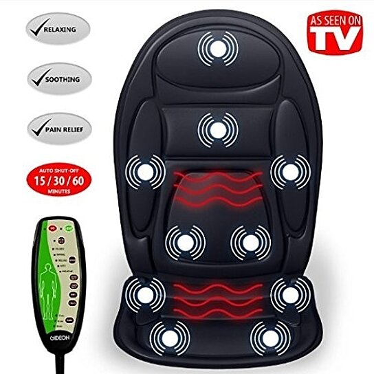 Vibrator heated car seat
