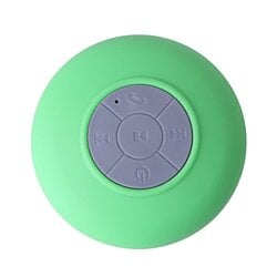 Waterproof Bluetooth Shower Speaker Hands Free Speakerphone-Green
