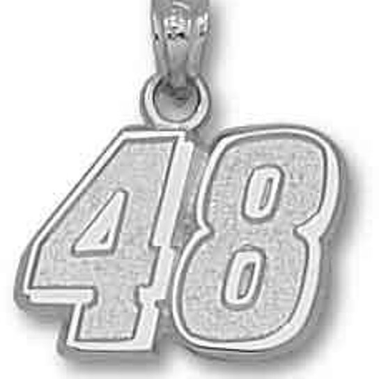 Buy Jimmie Johnson Number 48 Large Pendant By David