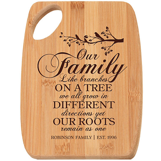 Buy Personalized Bamboo Cutting Board Chopping Block