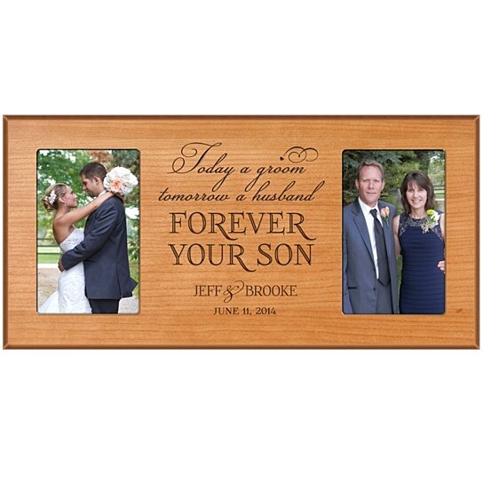 Buy Personalized Wedding Photo Frame For Parents Today A Groom