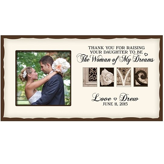 Buy Personalized Wedding Photo Frame for Parents with Love art design ...