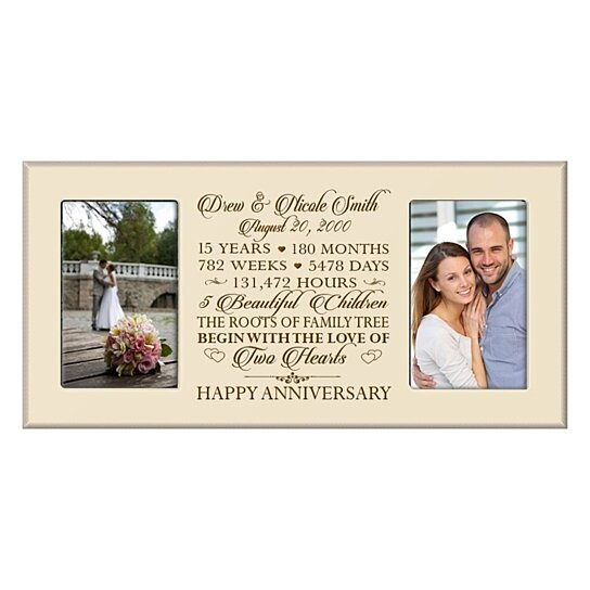 Anniversary Photo Frame, Can be customized to any anniversary year ...