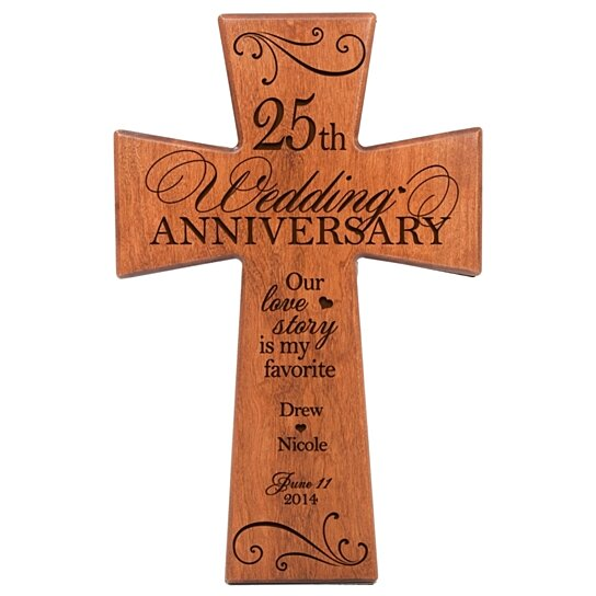 Gifts 25th Wedding Anniversary Couple: Buy Personalized 25th Wedding Anniversary Cherry Wall