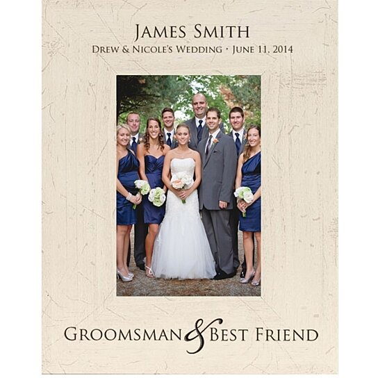 Wedding Gifts Best Man: Buy Personalized Groomsmen Photo Frame, Groomsman & Best