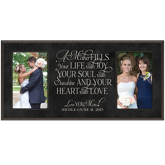 A Wedding Gift Movie : Buy Personalized Mother Photo Frame, A Mother fills your life with joy ...