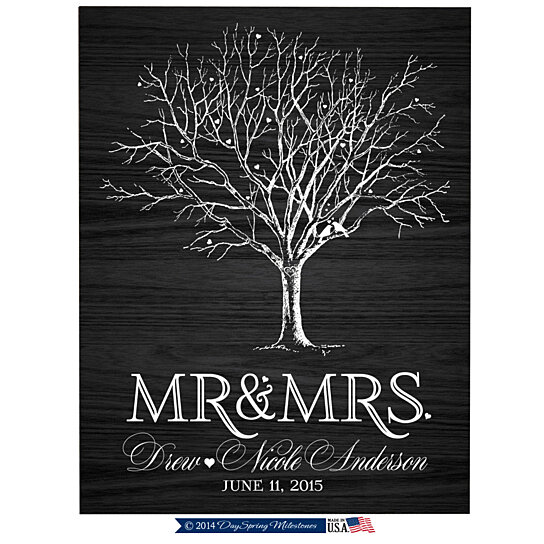 Wedding Gifts For Spouse: Buy Personalized Mr And Mrs Plaque By LifeSong Milestones