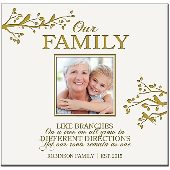 Buy Personalized Photo Album Our Family Like Branches On