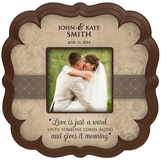 Buy Personalized Wedding Photo Frame Select From 4 Different Verses By DaySpring Milestones On