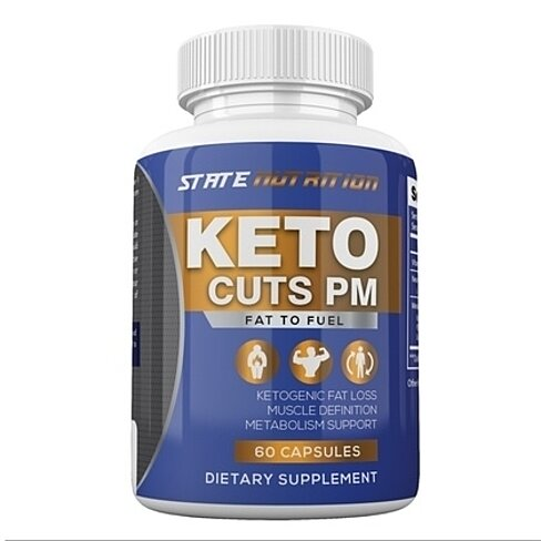 Keto Cuts PM Burn Fast Instead of Carbs Ketogenic Sleep Formula for Weight Loss