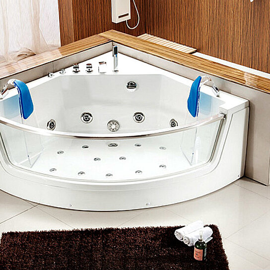 Buy 2 Person Bathtub Corner Whirlpool Tub Spa Therapy