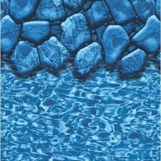 Buy liner 16 39 x 32 39 x 48 uni bead oval ag pool boulder Liner 5 50 x 1 32