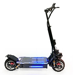 OFF ROAD Electric Kick Scooter 5000W Dual Motors 25AH 60V Lithium Battery 60 MPH