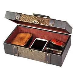 Designer Leather Treasure Chest,  Princess Style