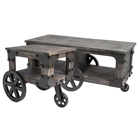 Rustic Wagon Style Coffee
