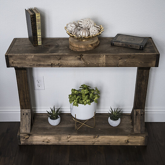 Barb Small Console Table By Del