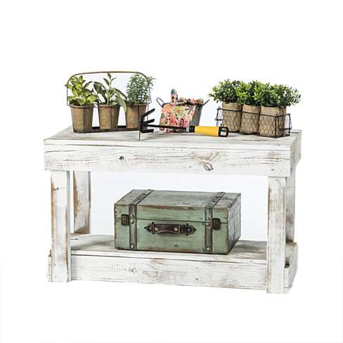 Genial Barnwood Entry Bench