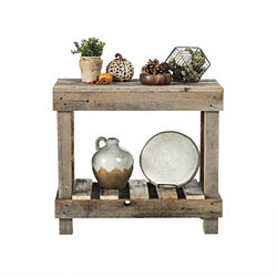 Barnwood Entry Table
