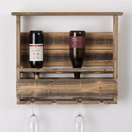 barnwood wine rack buy barnwood wine rack by hutsondesigns on opensky 1489