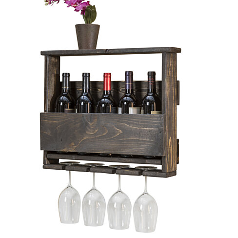 Del Luxe Top Shelf Wine Rack by Del Hutson Designs
