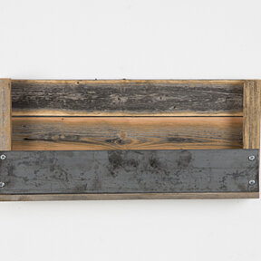 Industrial Refined Texas-Barnwood shelves