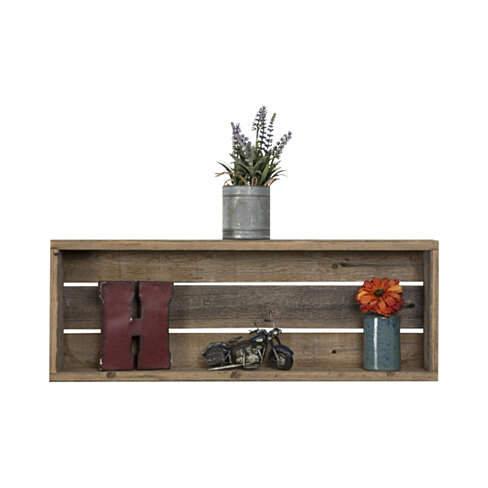 Natural Rustic Shelf