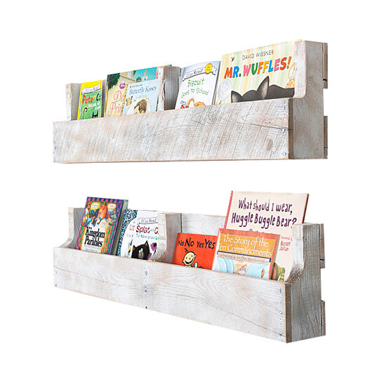 Buy Pallet Shelves ( White Distressed )(Free Shipping) By