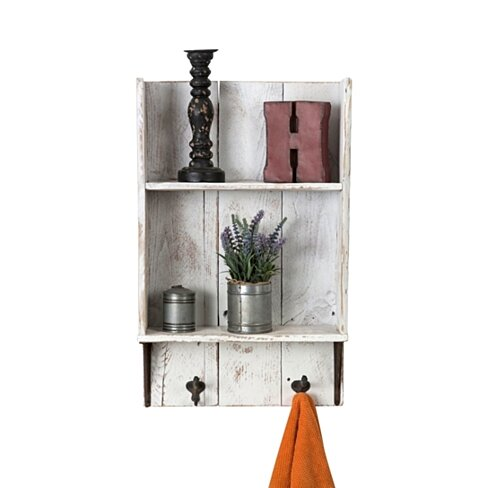 Reclaimed bathroom shelf (Free Shipping)