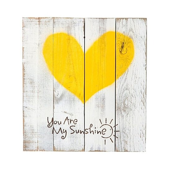 Buy reclaimed wood sign you are my sunshine quote with for Where to find reclaimed wood for free