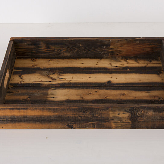 Buy Reclaimed Wood Serving Tray Free Shipping By Del