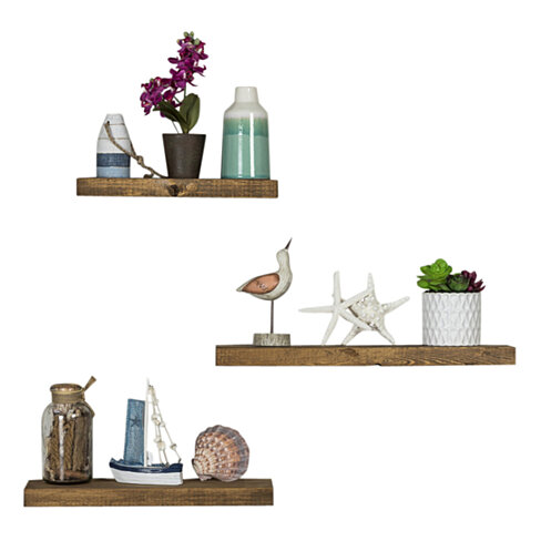 Set of 3 True Floating Shelves