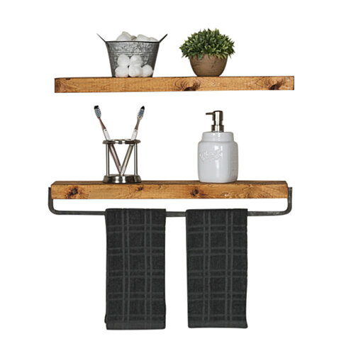 True Floating Shelf & True Floating Towel Holder Set(Free Shipping)
