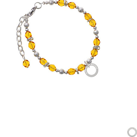 Buy Always My Mother Eternity Ring Yellow Beaded Bracelet
