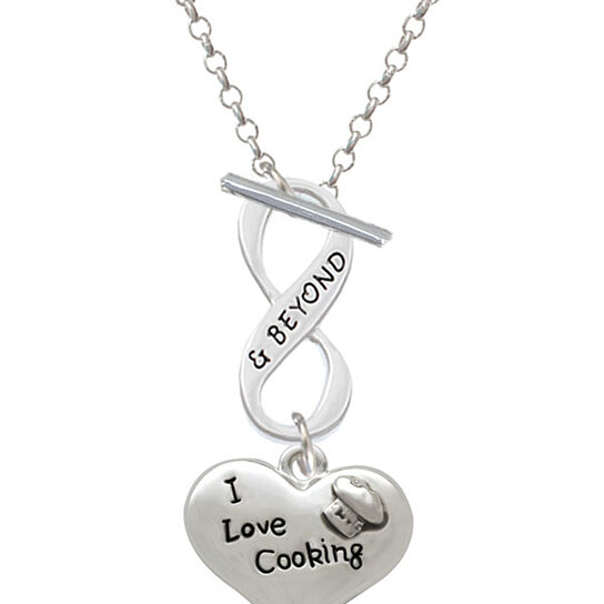 Buy i love cooking heart with chef hat infinity and beyond - Infinity chefs opiniones ...