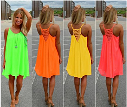 Sleeveless Mini Dress - 6 Colors