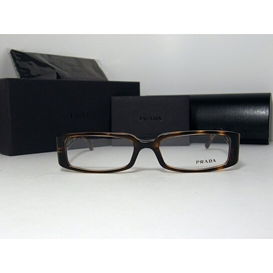 012cc6602ac9 Trending product! This item has been added to cart 65 times in the last 24  hours. NEW AUTHENTIC PRADA EYEGLASSES VPR ...