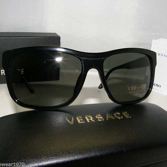 a672dc6c03d Buy New Authentic Versace Polarized Sunglasses VE 4179 GB1 58 Made In Italy  MMM by Designer Eyewear 4 You on OpenSky
