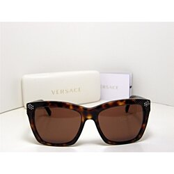 5ff3c3ccc0e86 New Authentic Versace Sunglasses VE 4213-B 879 73 VE4213 Made In Italy Rare
