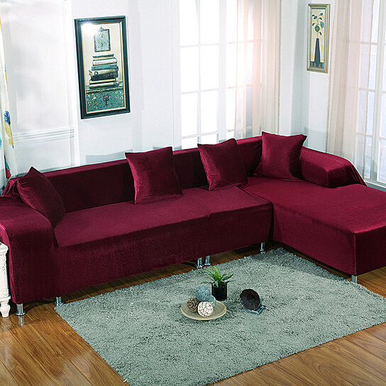 Buy Case on the sofa corner l shape sofa covers slip Universal ...
