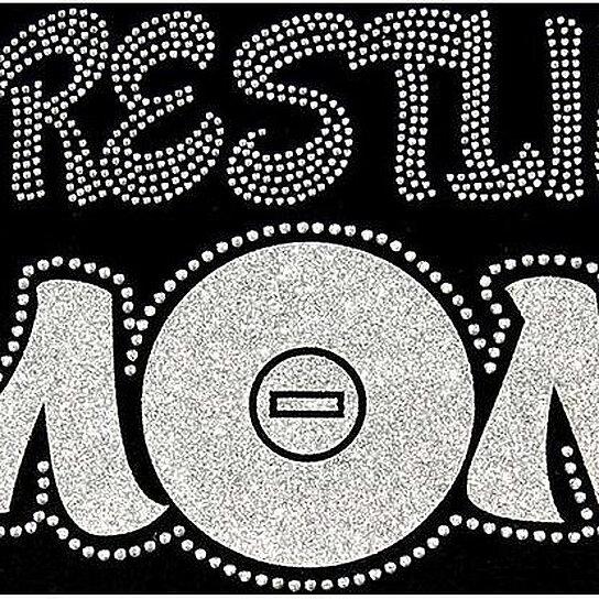 3710ccf0 Buy Rhinestone Wrestling Mom T-Shirt - Bling Shirt by Designs by Daffy on  OpenSky