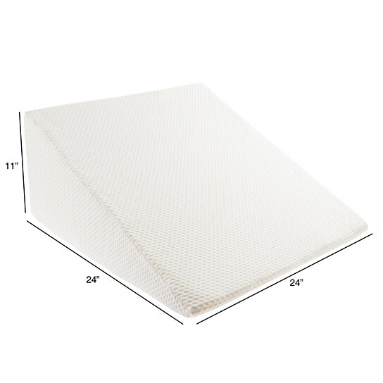 Buy 11 Inch High Wedge Incline Memory Foam Pillow For Rls