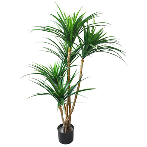 51 inch Pure Garden Tropical Yucana Artificial Tree