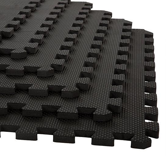 Buy 6 Pk Interlocking Eva Foam Floor Mats Garage Flooring