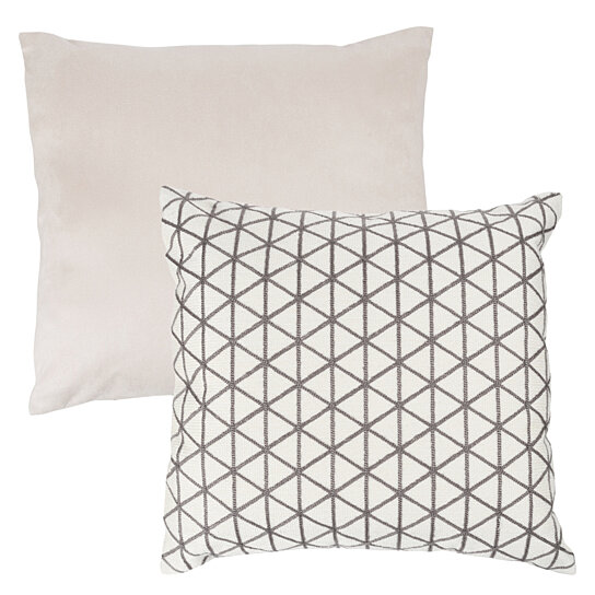 Buy Accent Throw Pillow 18 Inch Triangle Geometric Soft Backing
