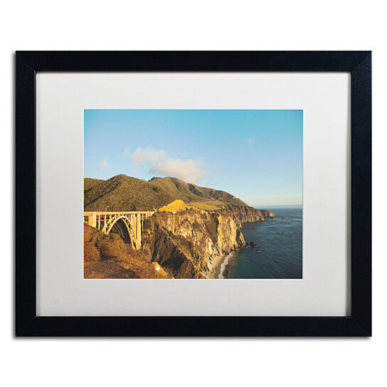 Buy Ariane Moshayedi Bixby Bridge Black Wooden Framed