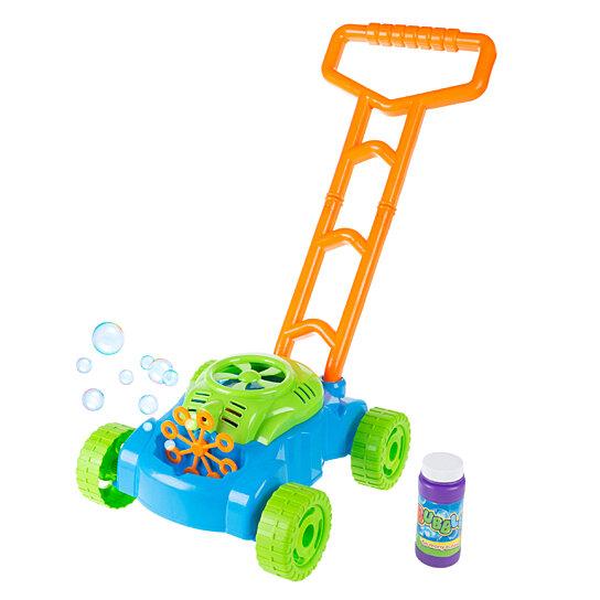 Buy Bubble Machine Lawnmower Outdoor Toddler Toy Walk