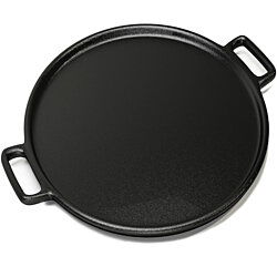 Cast Iron Pizza Pan Flat Skillet 14 Inch Grill Stove Campfire Frying Pan