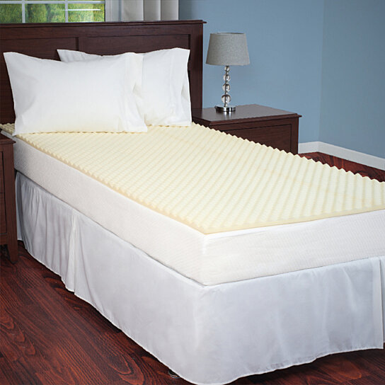 Buy Everyday Home Mattress Topper Egg Crate Ventilated