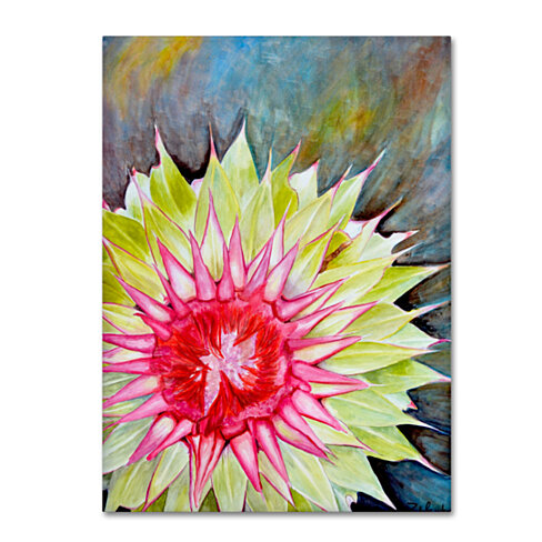 Jennifer Redstreake 'Thistle' Canvas Wall Art 35 x 47 Inches