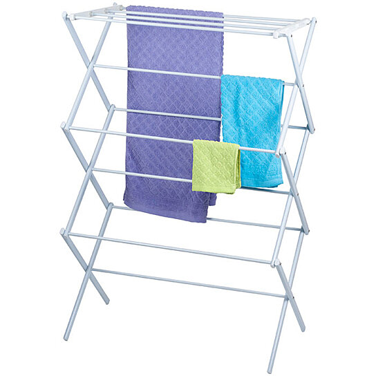 buy lavish home 3 tier clothes laundry drying rack stow away indoor drying space by destination. Black Bedroom Furniture Sets. Home Design Ideas